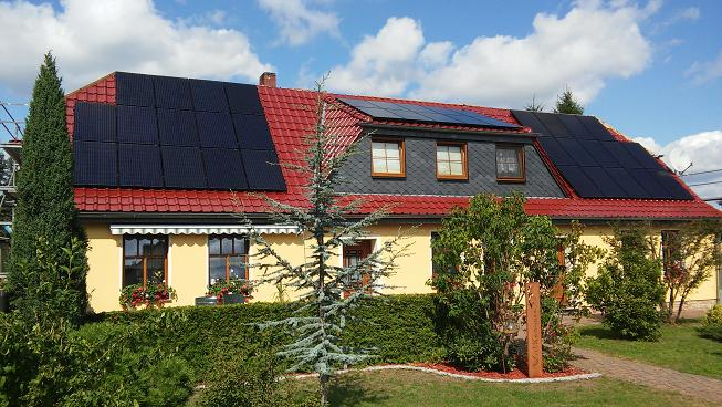 Solaranlage Photovoltaik des Monats