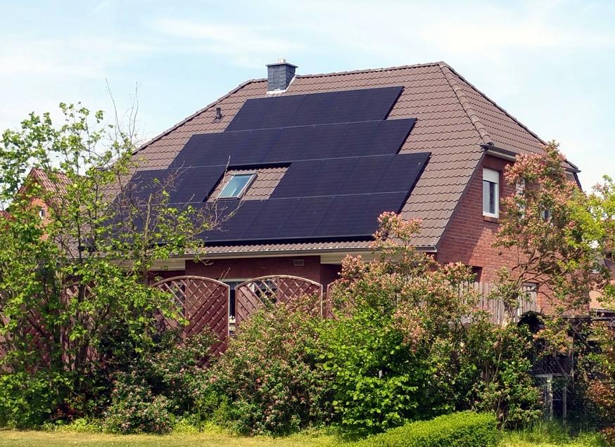 Solaranlage Photovoltaik in Jembke
