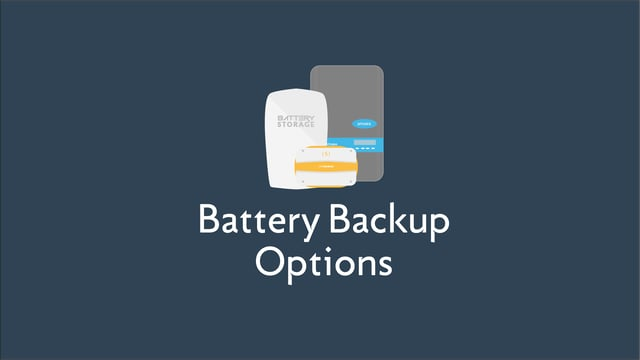 Battery Backup Options for Your Solar System