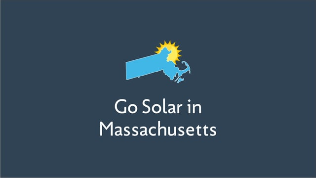 Going Solar in Massachusetts