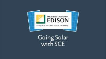 Going Solar with SCE