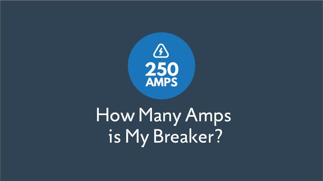 How Many Amps is My Breaker Box?