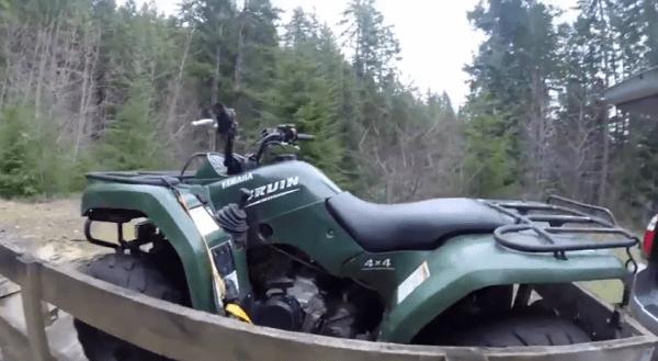 Yamaha Bruin 350 4x4 quad