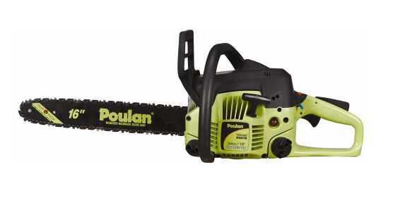 Poulan P3416 16-Inch 34cc 2-Cycle Gas-Powered Chain Saw