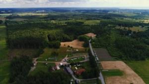 Solar Caravan Park aerial view