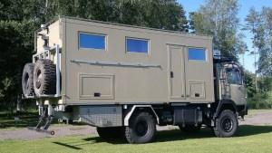 Solar Caravan Park - offroad campervan 2