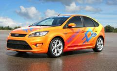 Sporty looking Ford Focus BEV
