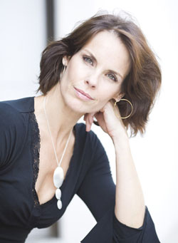 Actress Alexandra Paul.