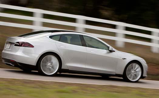 Tesla-S-Model-silver