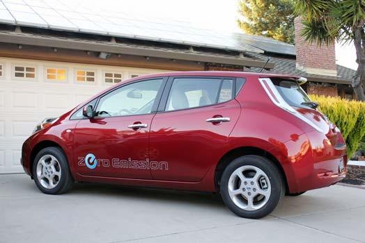 Nissan LEAF-solar-cayenne