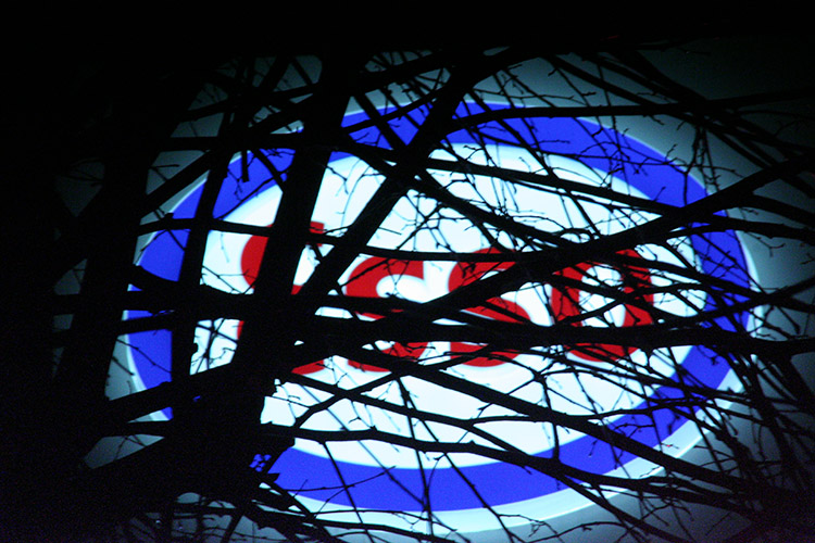 Photo of Big Oil company Esso gas station sign