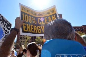 Yes, 100 percent renewable energy rocks!