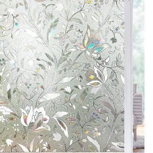 Solardiamond 3D Static Decorative Windows Films - Tulip
