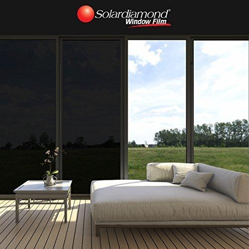 Solardiamond Windows Films - Dark Black
