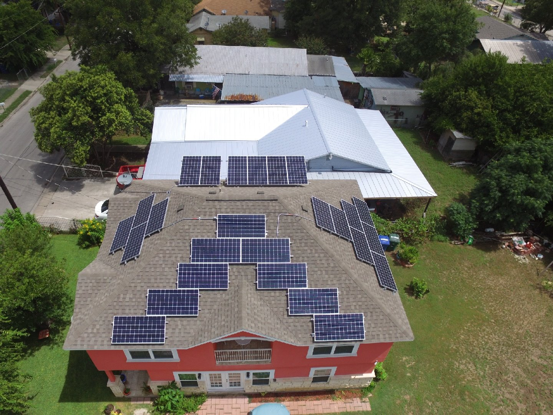 hight resolution of solar panels in san antonio