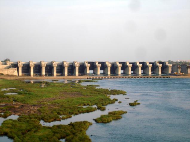 Dam on Narmada