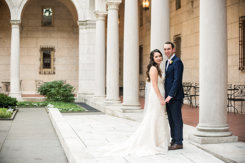Leah & Marc - The Lenox Hotel Wedding