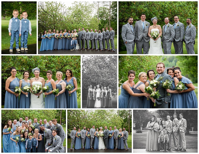 Social Media,family & wedding party,