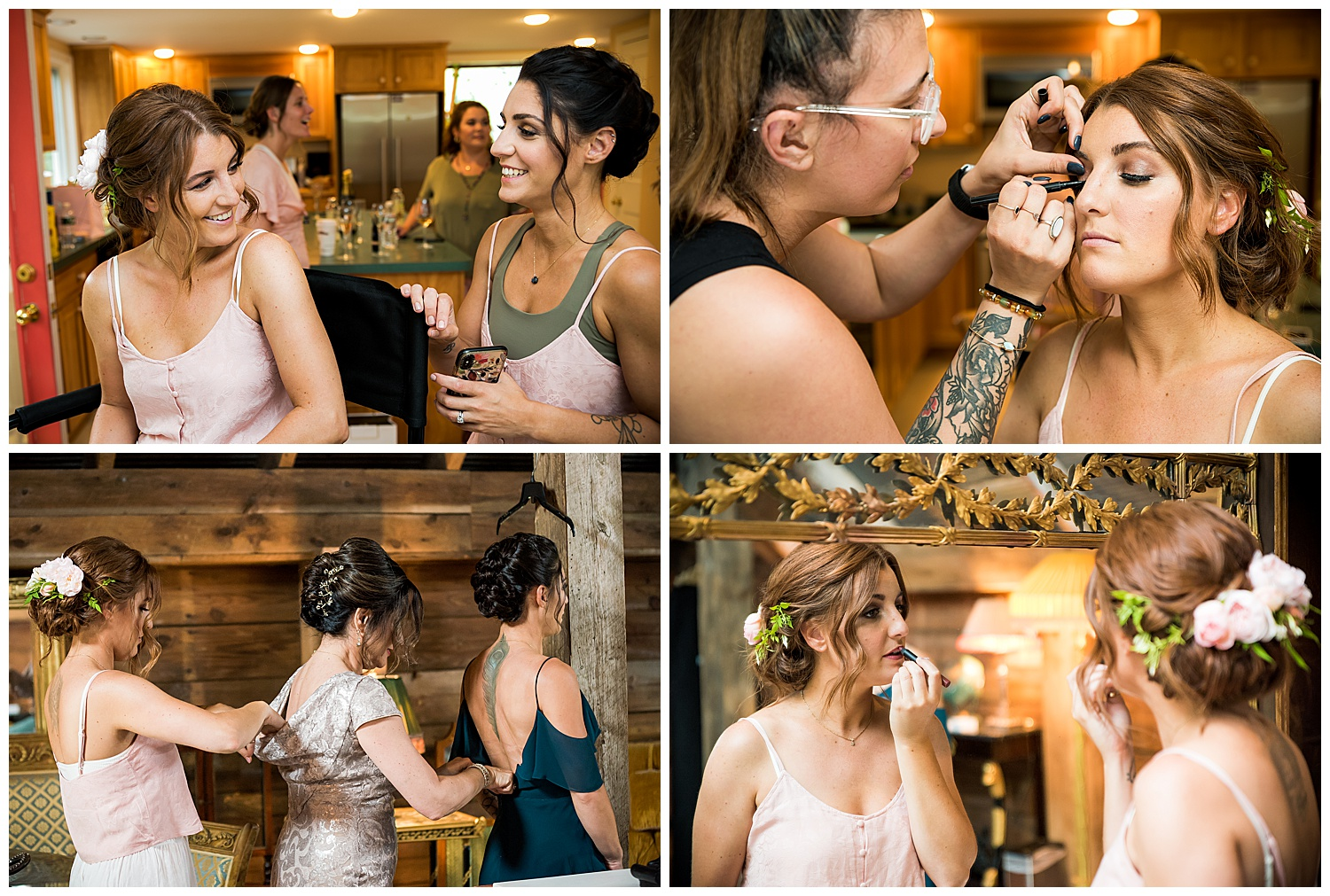 Valley View Farm Wedding - Getting Ready Photos