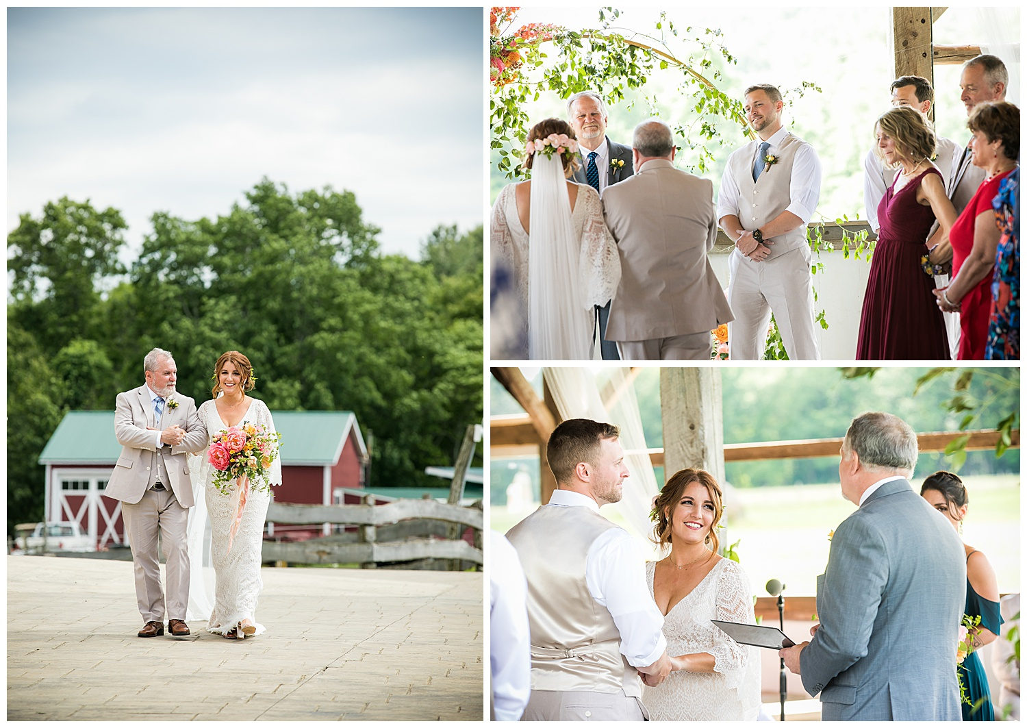 Valley View Farm Wedding - Ceremony