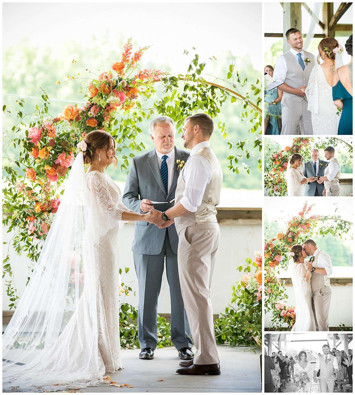 Valley View Farm Wedding - Ceremony