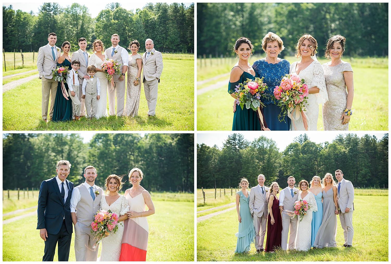 Valley View Farm Wedding - Family Photos