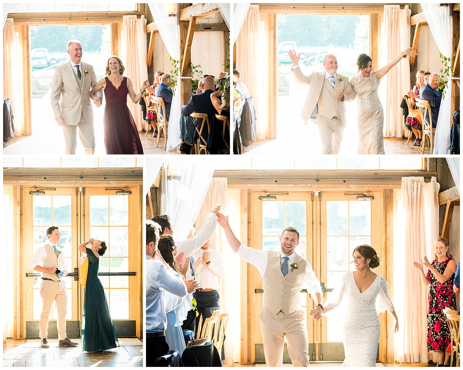 Valley View Farm Wedding - Reception Photos