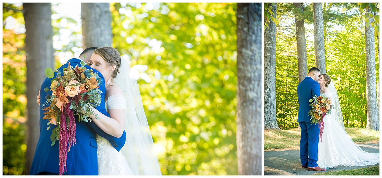 Owl's Nest White Mountain Wedding - First Look