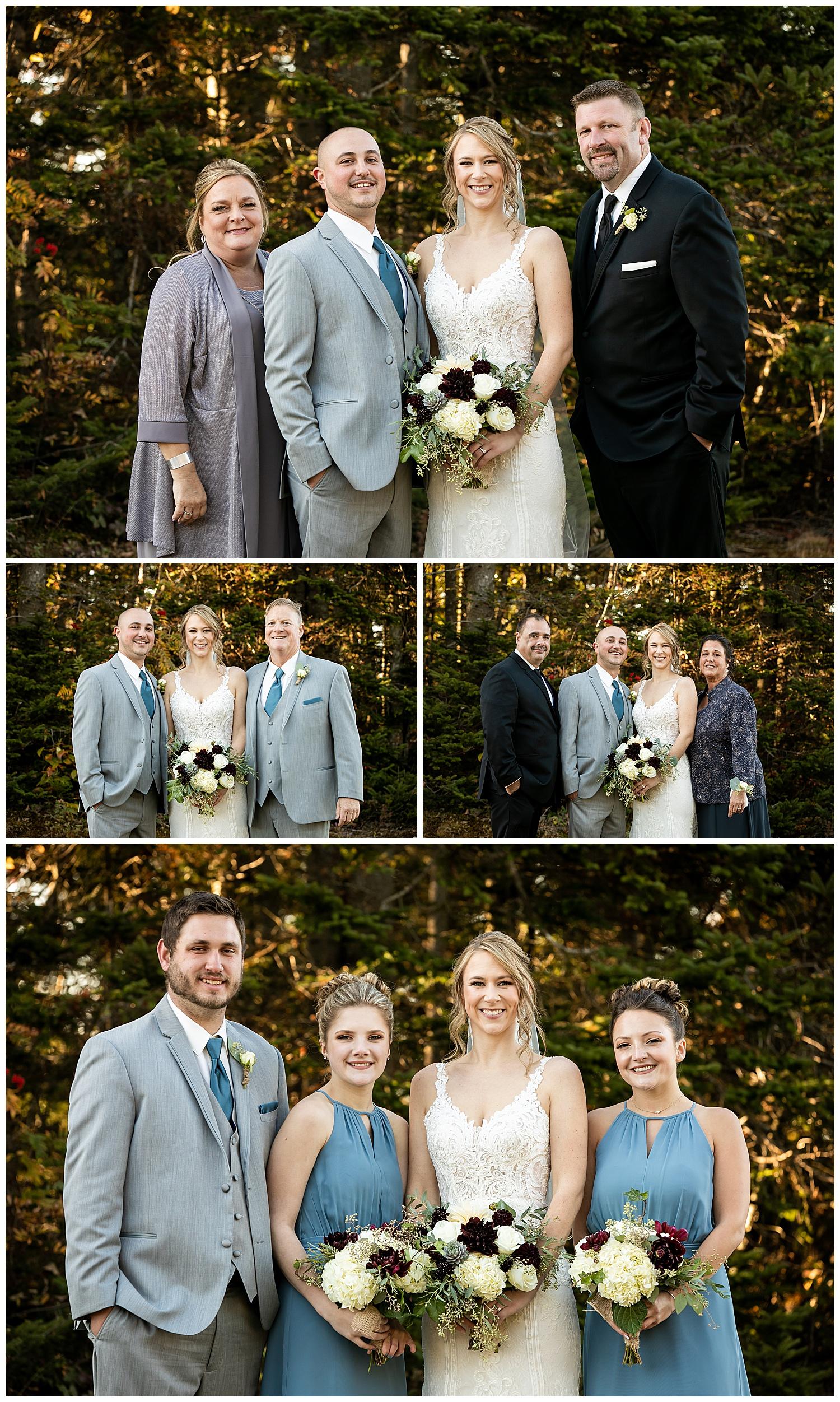 Wedding Photography at Mt Sunapee Resort NH