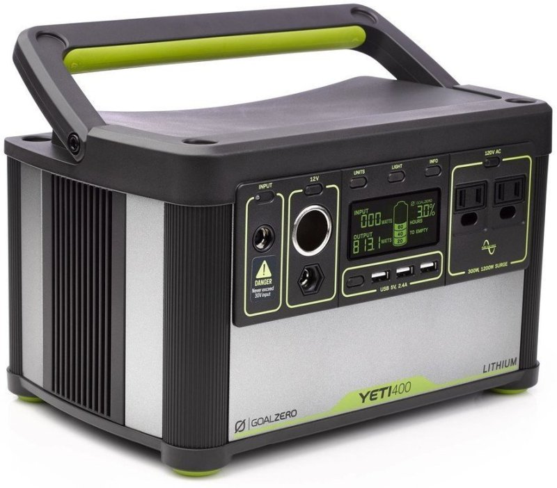 Goal Zero Yeti 400 Lithium Is One Of The Best Portable Solar Options Today