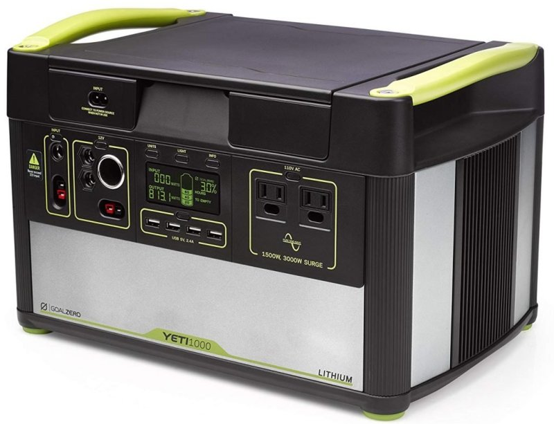 Goal Zero Yeti 1000 Lithium Portable Solar Station Review