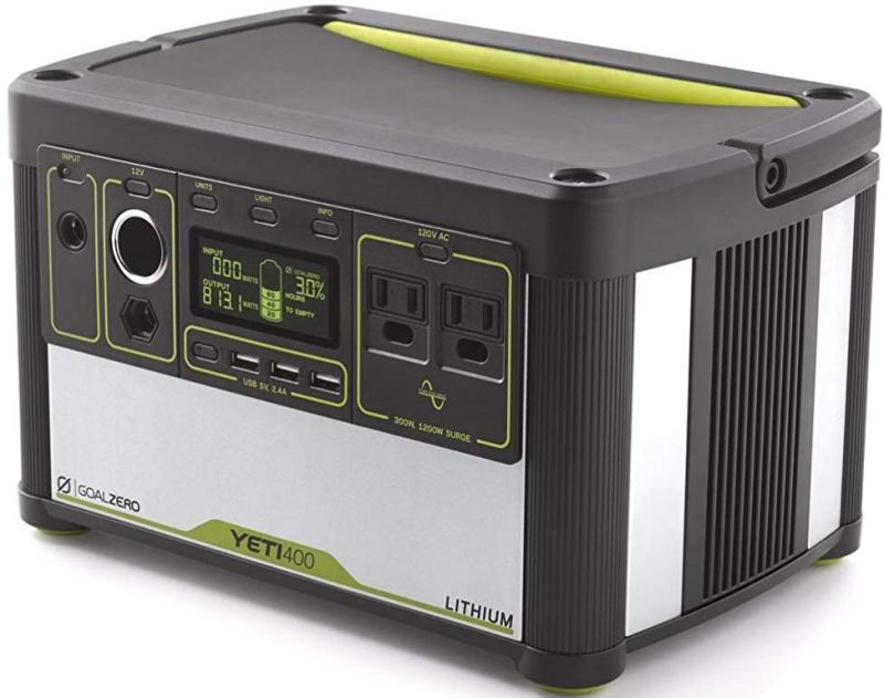 Goal Zero Yeti 400 Lithium Portable Power Station Review
