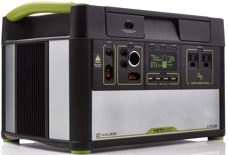 Goal Zero Yeti 1000 Lithium Portable Power Station Is Awesome For CPAP Machines