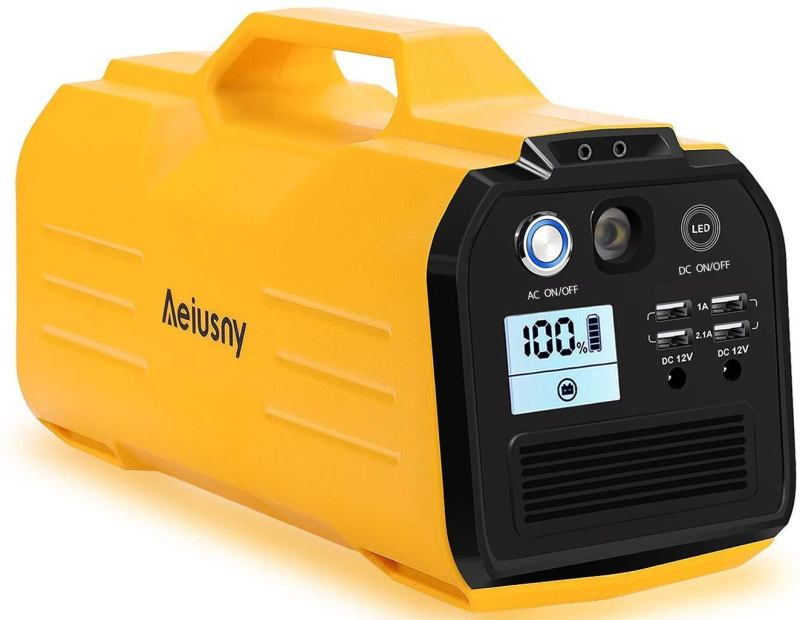 The Aeiusny 400W Portable Solar Generator Is Great For A CPAP Machine
