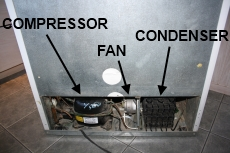 condenser on bottom explained