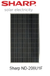 Sharp ND-208U1F solar module