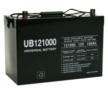 100 Amp Hour 12 Volt Battery