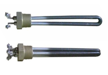 dc water heating elements for making a solar hot water tank