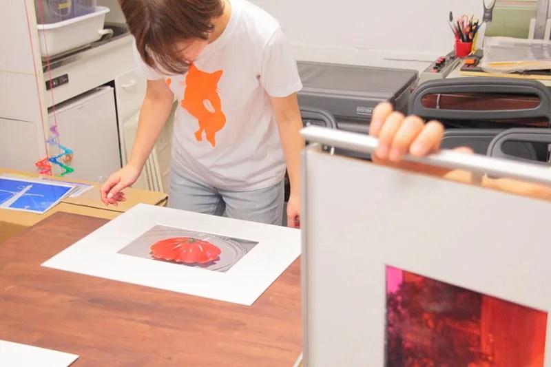 女性の写真教室 制作展示クラス写真展 「赤いトマトで目が覚めた」-12
