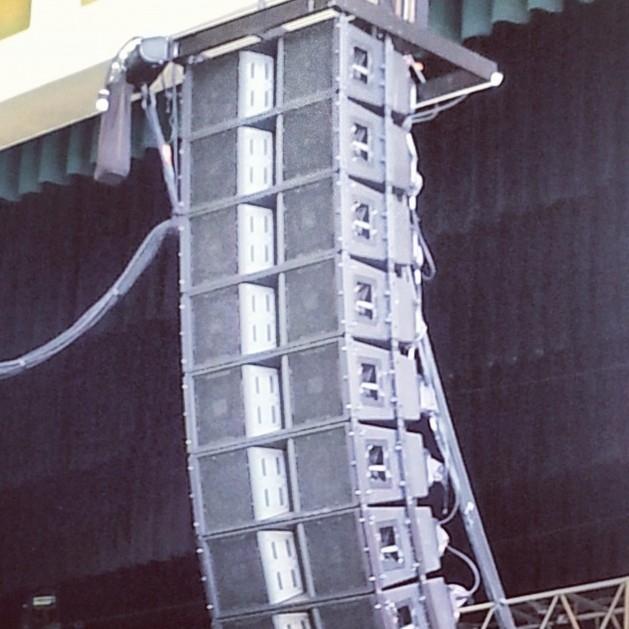 Used Vertec 4888 Line Array Sound System by JBL  Item 33426