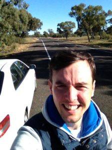 Road from Wagga Wagga
