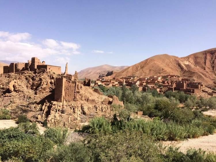 The Kasbah in Ait ben Haddou