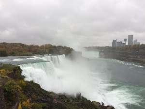 The Niagara Falls in NY