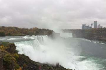 The Niagara Falls in NY