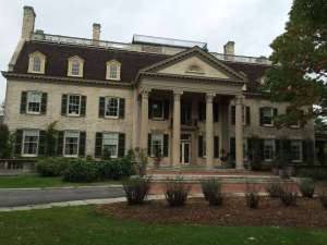 The George Eastman House in Rochester