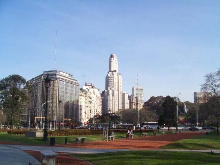 A Square in Buenos Aires, Argenitina