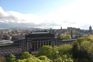 The Views over Edinburgh from Carlton Hill