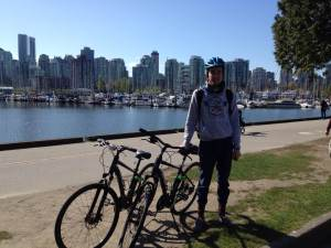 Cycling Around Vancouver