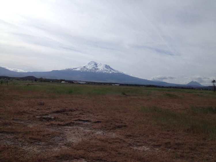 A Snow-capped Oregon Mountain