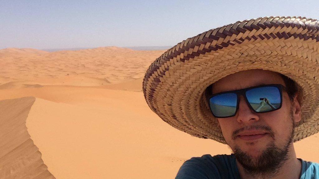 Hassi Labied Sand Dunes
